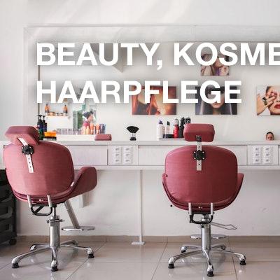 Beauty, Kosmetik und Haarpflege