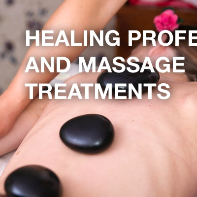 Healing professions and massage treatments