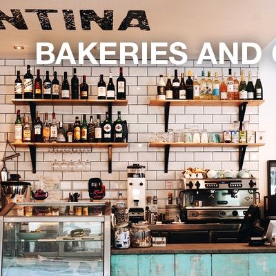 Bakeries and cafes
