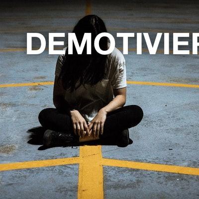 demotiviert