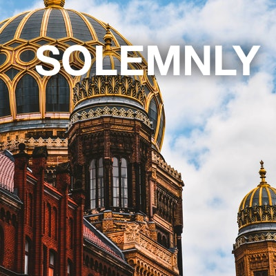 solemnly