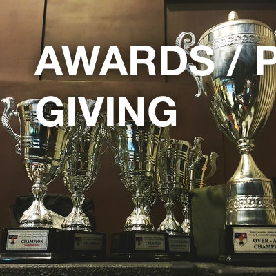 awards / prize-giving